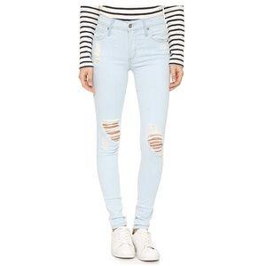 James Jeans Twiggy Distressed 5pocket legging jean